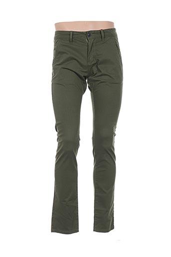 Pantalon casual vert S.OLIVER pour homme