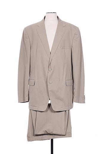 Veste/pantalon beige BRUNO SAINT HILAIRE pour homme