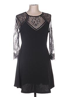 Robe mi-longue noir GRACE & MILA pour femme