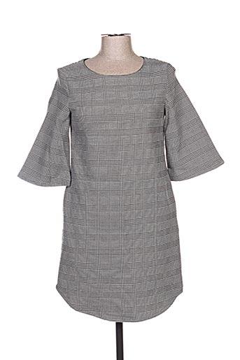 Robe courte noir CHARLISE pour femme