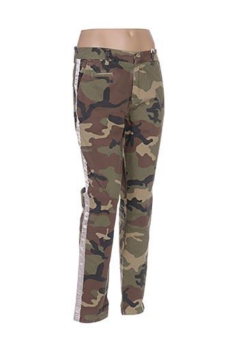 Pantalon casual vert AVIDA DOLLARS pour femme