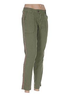 Pantalon 7/8 vert LES P'TITES BOMBES pour femme