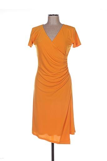 Robe mi-longue jaune ISABEL DE PEDRO pour femme