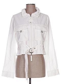 Veste casual blanc ANIMALE pour femme