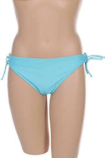 Bas de maillot de bain bleu FEI pour femme