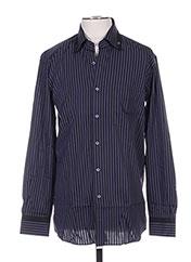Chemise manches longues bleu PIERRE CARDIN pour homme seconde vue