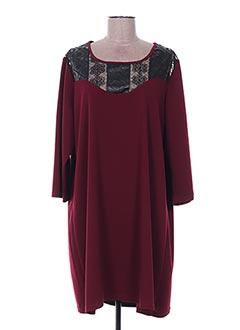 Robe courte rouge LILI LA TIGRESSE pour femme