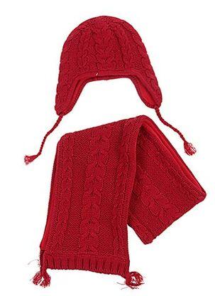 Bonnet rouge CHIPIE pour fille