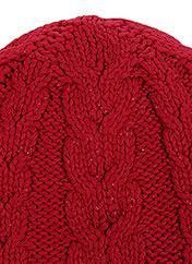 Bonnet rouge CHIPIE pour fille seconde vue