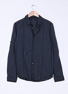 Chemise manches longues noir TEDDY SMITH pour garçon