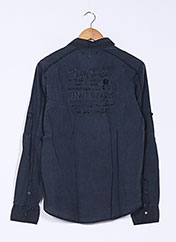 Chemise manches longues noir TEDDY SMITH pour garçon seconde vue