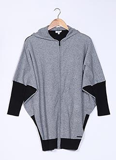 Gilet sans manche gris DKNY pour fille