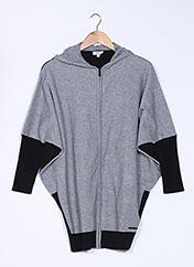 Gilet sans manche gris DKNY pour fille seconde vue