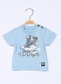 T-shirt manches courtes bleu TIMBERLAND pour garçon