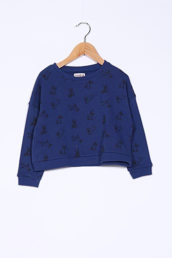 Sweat-shirt bleu CHIPIE pour fille