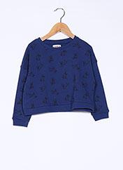 Sweat-shirt bleu CHIPIE pour fille seconde vue
