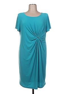 Robe mi-longue bleu ARONA SAN FRANCISCO pour femme