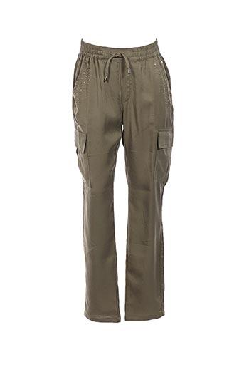 Pantalon casual vert MAYORAL pour fille