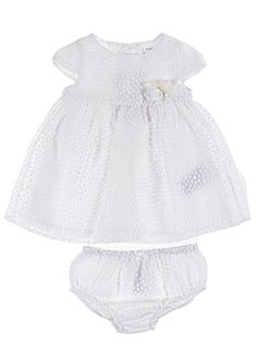 Top/robe blanc MAYORAL pour fille