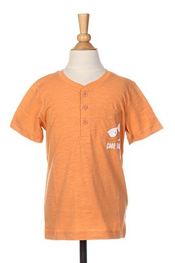 T-shirt manches longues orange NAME IT pour garçon