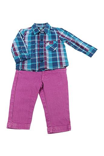 Top/pantalon bleu TUC TUC pour garçon