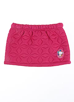 Jupe courte rose TUC TUC pour fille