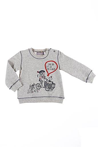 Sweat-shirt gris BOBOLI pour fille