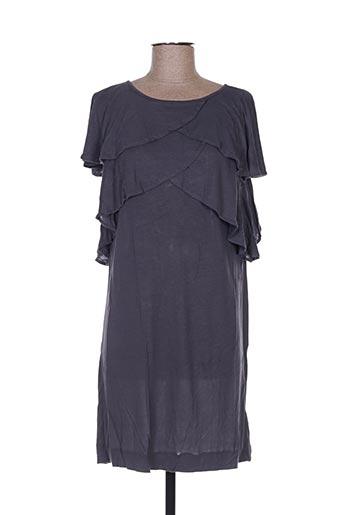 Robe courte gris ANECDOTE pour femme