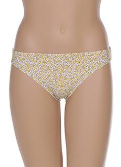 Bas de maillot de bain jaune ETAM pour femme