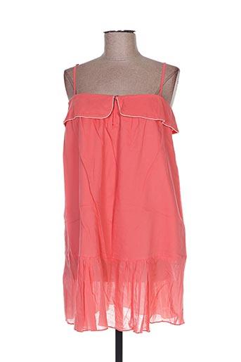Robe courte rose BEL AIR pour femme