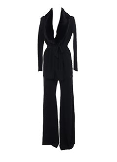 Veste/pantalon noir ELISABETTA FRANCHI pour femme