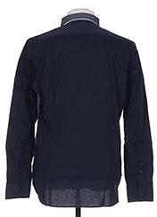 Chemise manches longues bleu MANUEL RITZ pour homme seconde vue