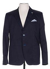 Veste chic / Blazer bleu MANUEL RITZ pour homme seconde vue