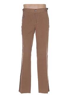 Pantalon casual marron PAL ZILERI pour homme