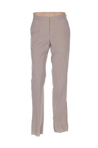 Pantalon casual beige CORNELIANI pour homme