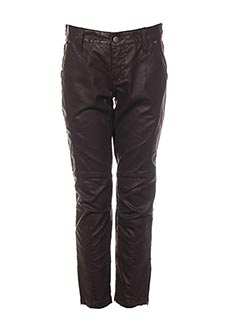 Pantalon 7/8 marron ONE STEP pour femme
