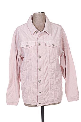 Veste casual rose DENIM pour femme