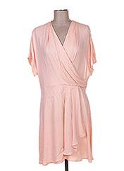 Robe mi-longue rose TARA JARMON pour femme seconde vue