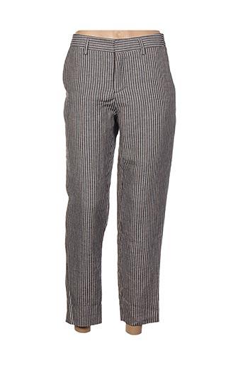 Pantalon 7/8 gris CHLOÉ STORA pour femme