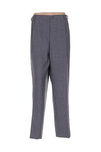 Pantalon chic gris COUTUREINE pour femme