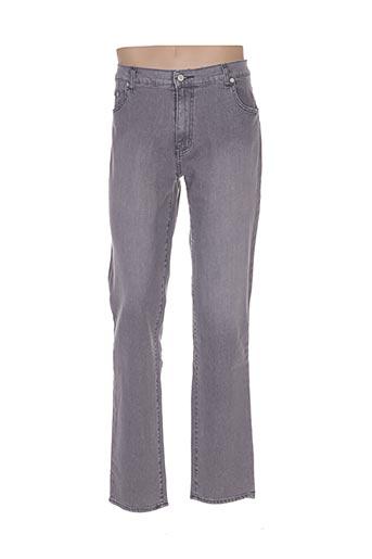 Jeans coupe droite gris FULL BLUE pour femme