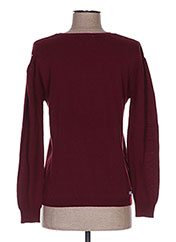 Pull col rond rouge CHIPIE pour fille seconde vue