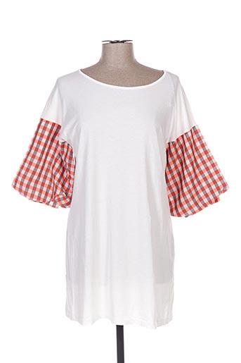 Robe courte blanc BRAND UNIQUE pour femme