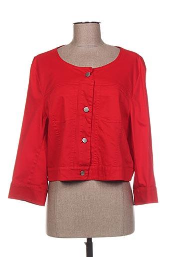 Veste casual rouge DIAMBRE pour femme