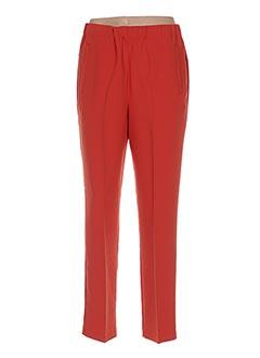 Pantalon chic orange NICE THINGS pour femme