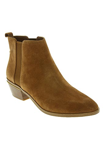 buying now new lower prices separation shoes MICHAEL KORS Chaussures Bottines/Boots de couleur marron en soldes pas cher  1351732-marron - Modz