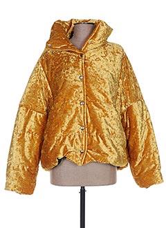Veste casual jaune ANNA LYON pour femme
