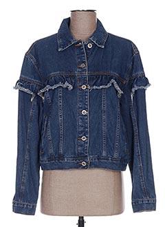Veste en jean bleu ANNA LYON pour femme
