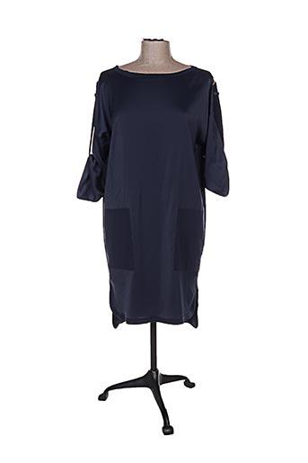 Robe courte bleu COTTONADE pour femme