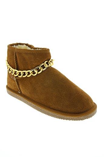 Bottines/Boots marron ILARIO FERUCCI pour femme